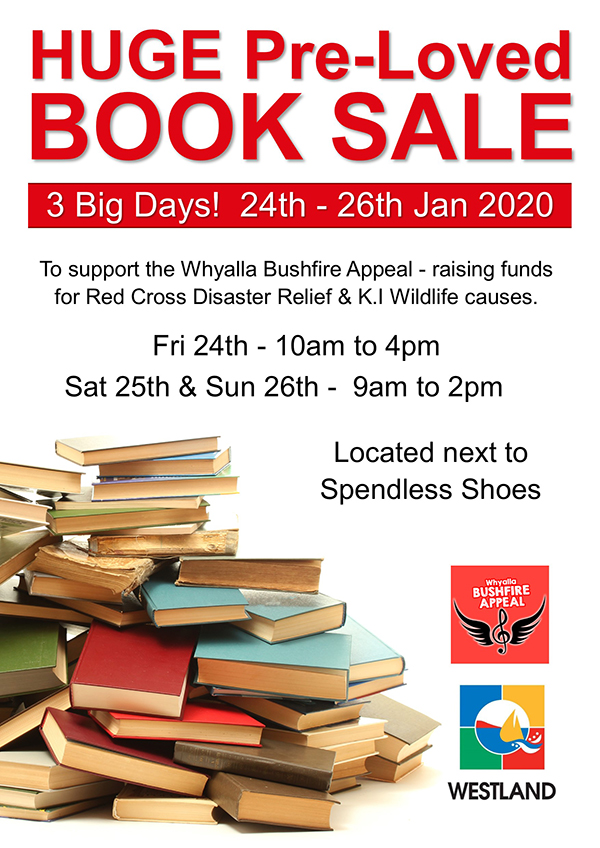 book sale generic poster web